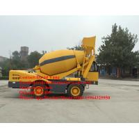 Buy cheap 4 M3 mobile self loading concrete mixer with Cummins engine self-loading concrete mixer truck for sale from wholesalers