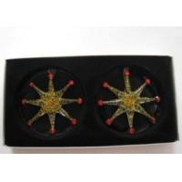 Buy cheap s/2 star ornament for christmas decoration from wholesalers