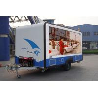 Buy cheap Outdoor Truck Mounted Full Color Mobile LED Screens Billboard with low power consumption from wholesalers