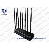 Buy cheap Utmost Efficiency Mobile Phone Signal Blocker , Cell Phone And Wifi Jammer 100 - 240V AC from wholesalers