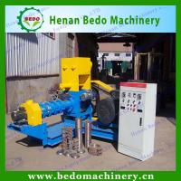 Buy cheap China floating fish feed pellet machine / floating fish feed extruder machine for fish farming from wholesalers