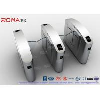 Buy cheap Flap Barrier Gate Half High Turnstile Security Systems Swing Gate Flap Barrier product