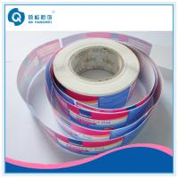 Buy cheap Roll Adhesive Glossy Label For Plastic Bottle  / Self Adhesive Plastic Labels In Roll from wholesalers