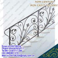 Buy cheap wrought iron railing/handrail/staircase/balustrades from wholesalers
