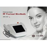 Buy cheap Radio Frequency Micro Needle Machine 80W Power Restoring Skin Elasticity from wholesalers