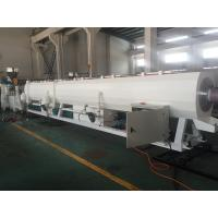 Buy cheap Electric Conduit Pipe PVC Pipe Extrusion Line Stable Output Single Screw Extruders from wholesalers