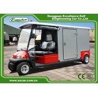 Buy cheap 2 Seater 48v Electric Ambulance Golf Cart With Rain Cover Waterproof from wholesalers