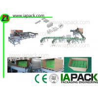 Buy cheap Horizontal Carton Wrapping Machine , Automatic Cartoning Machine from wholesalers