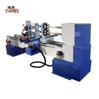 Buy cheap CA-1516 Double Axes Double Spindles CNC Wood Turning machine for wood processing from wholesalers
