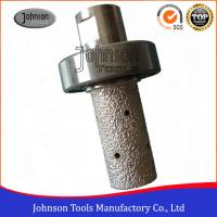 Buy cheap Vacuum Brazing Diamond Tools Diamond Milling Bits For Grooving Stone from wholesalers