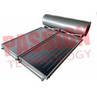 Buy cheap 300L Flat Plate Collector Solar Water Heater / Thermal Hot Water Heater Direct Plug Connection with 2 Collector product