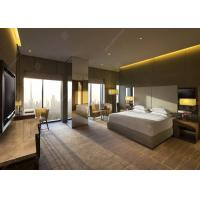 Buy cheap Bespoke Contemporary Hotel Bedroom Furniture High Gloss Or Matte Top Finish from wholesalers