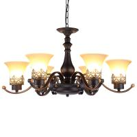 Buy cheap Black Iron works chandelier for indoor home lighting fixtures (WH-CI-105) from wholesalers