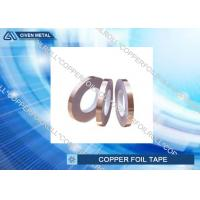 Buy cheap Hot Melt Adhesive Copper Foil Tape , Single Sided copper conductive tape from wholesalers