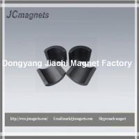 Buy cheap Strontium Ferrite Segment Magnets, Suitable for MotorGenerator, Customized ShapesSize are Accepted from wholesalers
