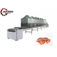 Buy cheap Industrial Seafoood Microwave Drying And Sterilization Machine product
