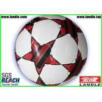 Buy cheap New Design Machine - Stitched Synthetic Leather Soccer Ball Standard Size and Weight from wholesalers