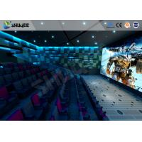 Buy cheap New Trend Future 4D Movie Theater Equipment Seamless Compatibility With Hollywood Movies product