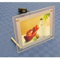 Buy cheap Table Acrylic Sign Holder , LED Illuminated - Clear,table backlit slim sign from wholesalers