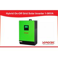 Buy cheap Max PV Array Power 6000W mppt solar hybrid inverter 120A used in solar power plant from wholesalers