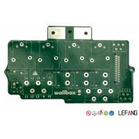Buy cheap 3 OZ Double Sided Heavy Copper PCB Circuit Board With Lead Free HASL 0.8 Mm Aperture from wholesalers