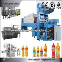 Buy cheap Juice Beverage Production Line With Liquid Filler Equipment / Capping Machine from wholesalers