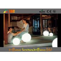 Buy cheap 16 Colors Changeable Hotels LED Balls , Waterproof LED Furniture Lighting Balls from wholesalers