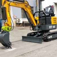 Buy cheap China popular cheap 1.8 tons 2 ton digging machine cheap mini excavator prices from wholesalers