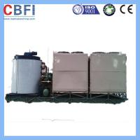 Buy cheap 1 Mm To 2 Mm Flake Ice Machine / Flake Ice Making Machine For Fishery Meat Cooling from wholesalers