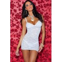 Buy cheap Sexy Lingerie Wholesale White Romantic Rose Lingerie Sexy Babydoll Lingerie Chemises wholesale from manufacturer from wholesalers