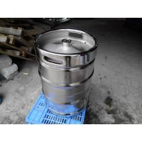 Buy cheap Large Stainless Steel Beer Keg Electro Polishing 15.5 Gallon Keg SGS FDA Certificated from wholesalers
