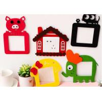 Buy cheap Colorful Felt Fabric Crafts Lovely Design Switch Decoration Sticker from wholesalers