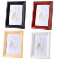 Buy cheap 1PC NEW Solid Wood Photo Frame Picture 4R Home Decor Hang Wall 18.5x13.5x2.5cm from wholesalers