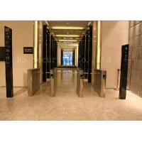 Buy cheap Office Access Drop Arm Barrier , Biometric Construction Site Access Control Turnstiles from wholesalers
