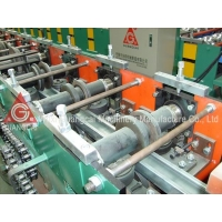 Buy cheap CE shutter door guide rail cold roll forming machine Hydraulic Steel Roofing Material Profiling Machine from wholesalers
