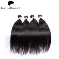 Buy cheap No Shedding Natural Black Silky Straight In European Virgin Human Hair For Beauty product