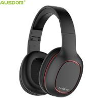 Buy cheap Ausdom NEW M09 Cost-Effective Over Ear Foldable Super Lightweight CD-Like Sound Bluetooth Headphone Support TF Card from wholesalers