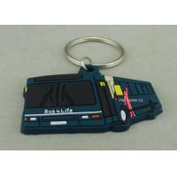 China Custom Soft PVC Keychain , Promotional 2D Custom Rubber Keychains on sale