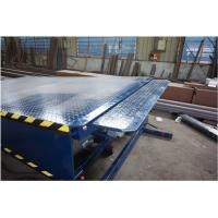 Buy cheap Stationary Loading Dock Ramps / Hydraulic Dock Leveler 2500mm * 2000mm from wholesalers