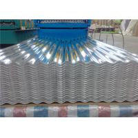 Buy cheap 29 Gauge Aluminum Corrugated Roof Panels / Roofing Sheet Easy Installation from wholesalers