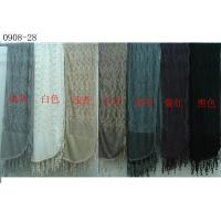Buy cheap Wool Scarf with Lace Trim (0908-04) product