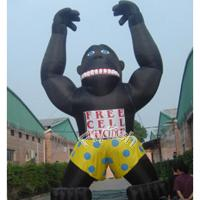 Buy cheap giant inflatable gorilla model from wholesalers