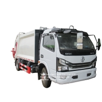 Buy cheap Dongfeng 4 cubic meters refuse compactor  compression small garbage truck from wholesalers