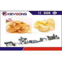 Buy cheap Fried Puffed Potato Chips Making Machine Output 100 - 120kg / H Stable Performance from wholesalers