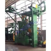 Buy cheap Y Shape Shot Blast Cleaning Machine Aluminium Castings With Shots Control System from wholesalers