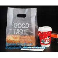 Buy cheap Customized Small Sealed Bakery Food Packing Poly Lined Snack Paper Bag With Clear Window For Cookies, bagease, bagplasti from wholesalers