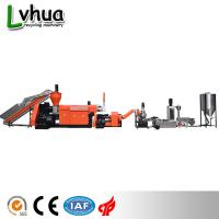 Buy cheap Industrial Plastic Waste Recycling Machine PP PE Wet Film Reprocess Customized Color from wholesalers