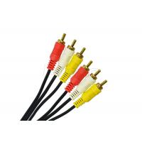 Buy cheap Round Special Cables RCA Video Cable 2 RCA 3 RCA Cable 2R / 3R For CCTV Cameras from wholesalers