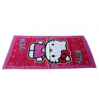 Buy cheap Velour beach towel with reactive printing in customer's design from wholesalers