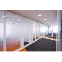 Buy cheap Movable Partition Walls Flexible Frosted Glass Room Dividers For Office from wholesalers